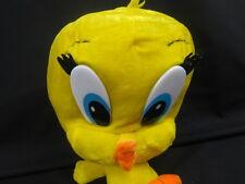 BIG HEAD TWEETY BIRD YELLOW LOONEY TUNES SUNDAY CARTOON PLUSH STUFFED ANIMAL TOY