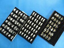 US SELLER-50 cents/ring-30 Cross Christian Prayer Wholesale Stainless Steel Ring
