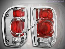 98-00 Ford Ranger Altezza Tail Lights Chrome 00 99 Lamp