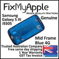 Samsung Galaxy S3 i9305 Blue Mid Frame Bezel Housing Middle Bracket Replacement