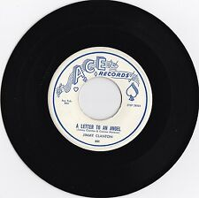 """Jimmy Clanton """"A Letter To An Angel"""" & """"A Part Of Me"""" 1958 Pop Rock NM Condition"""