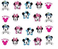 NAIL Art Decalcomanie Transfers Adesivi Mickey Minnie Mouse (A-361)