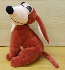 "Disney Store Plush Dog Dinah Plutos Girlfriend 7"" Brown Long Lashes RARE"
