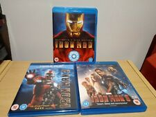 Iron Man Trilogy Blu Ray UK Release