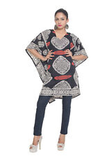 Tunic Black White Top Kaftan Size Plus Caftan 5x Casual 4x Dress New Beach Women