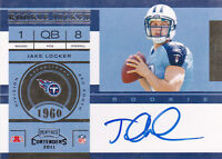 2011 Playoff Contenders #211A Jake Locker RC Auto