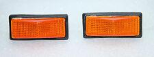 klassisch Fiat Uno Regata Ritmo 89> Paar Seitenblinker Blinker Linsen orange