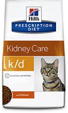 OFFERTA per 10Kg (2 sacchi da 5Kg) HILL'S K/D GATTO Prescription Diet