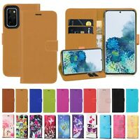For Samsung Galaxy S20 S20 Plus Ultra 5G PU Leather Wallet Flip Stand Case Cover
