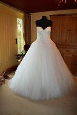 Crystal/Diamante Plus Size Maggie Sottero Wedding Dresses