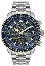New Citizen Promaster Skyhawk Blue Angels Atomic Steel Watch JY8078-52L
