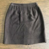 YVES SAINT LAURENT Rive Gauche Wool Skirt