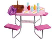 Mattel FXG37 Barbie Möbel Outdoor Zubehör Puppenmöbel Barbeimöbel Tisch Spielzeu