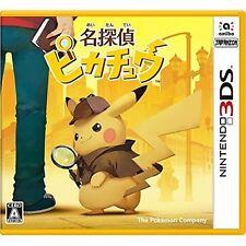 NINTENDO 3DS Meitantei Pikachu JAPANESE VERSION JAPANESE SYSTEM ONLY !!