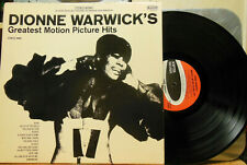 Dionne Warwick's Greatest Motion Picture Hits SPS575 Scepter LP 33 RPM Vinyl