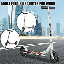 Lightweight Removable Folding Scooter Protable Two Rounds Scooter Bike For Adult