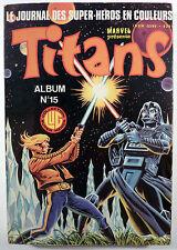 Guerre des étoiles Titans Reliure éditeur 15 Ed. LUG TBE
