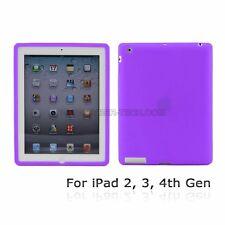 Premium Quality Soft Silicone Skin Case for iPad3