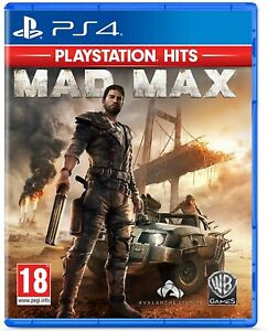 Mad Max PS4 Playstation 4 Brand New Sealed