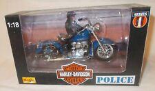 Vintage Harley-Davidson Motorcycle=Law Enforcement=Series 4=