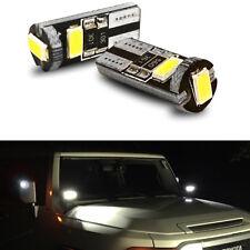 Super Bright LED Side Mirror Spot Puddle lights for 2007-2014 Toyota FJ Cruiser