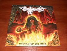 Deathhammer – Onward To The Pits LP US 2012 Hells Headbangers – HELLS LP 075