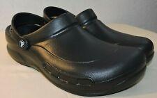 Crocs Bistro 10075 Clogs Unisex Black Shoes Sandals Size 10 Mens  / 12 Womens