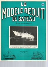 """MODELE REDUIT DE BATEAU N°128 PLAN : VEDETTE """"HORIZON"""" /BATEAU-PILOTE """"CARRELET"""""""