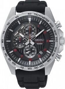 Seiko Gents Motorsport Chronograph Watch SSB325P1 NEW