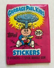 1985 Topps Garbage Pail Kids Original Series 1 Unopened Wax Pack - Glossy