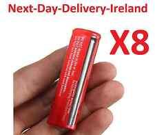 8x 18650 3.7v Rechargeable Battery Batteries Flashlight Headlamp Lamp Laser