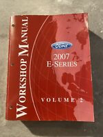 2007 Ford E-Series Workshop/Repair Manual-OEM FACTORY DEALER Service Book
