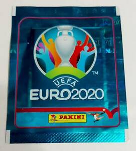 Special offer!!! Buy 2 - Get 4!!! EURO 2020 PANINI NO PREVIEW Sealed Packet RAR!