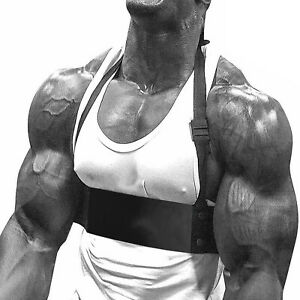 KIKFIT Bicep Isolator Gym Bar Curl Blaster Arm Training Weight Lifting Workout