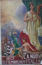 LA NUOVA ITALIA 20 SETTEMBRE 1922 ALBUM PER IL 1 CENTENARIO INDIPENDENZA BRASILE