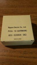 NOS genuine Nec print thimble for NEC impact printers. Font Pica 10 German