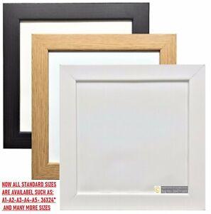 Square & Standard Size Photo Frame Poster Frame Modern Picture Frame Wood Effect