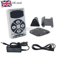 Hurricane HP-2 White Dual Digital LCD Tattoo Power Supply Machine UK Stock