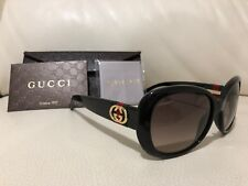 Brand New Gucci Black Frame Sunglasses GG 3644/S D28ED 56 17 135