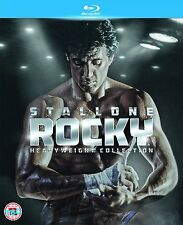 ROCKY Heavyweight Collection 1 2 3 4 5 & 6 BLU-RAY RB Balboa Sylvester Stallone