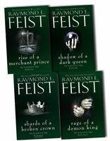 Raymond E. Feist Serpentwar Saga 4 Books Collection Pack Set