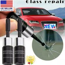 ELITE Auto Glass Nano Repair Fluid Car Windshield Resin Crack Tool Kit 2Pack NEW