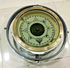 Vintage nautical marine ship Brass cassens & plath compass made in Germany