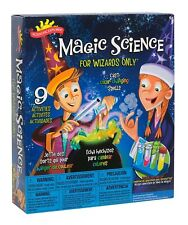 Scientific Explorer Magic Science for Wizards Only Kit Kids educational Toy Gift