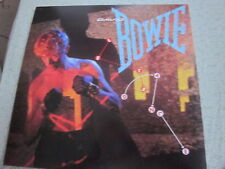 David Bowie 1983 Let's Dance 12x12 Promo Cover Flat Poster Stevie Ray Vaughan
