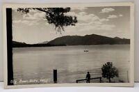 Big Bear Lake California RPPC Real Photo Postcard D3