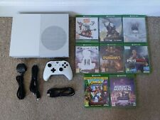 XBOX ONE 500GB CONSOLE BUNDLE - INCLUDING 8 GAMES - 7 NEW & SEALED.
