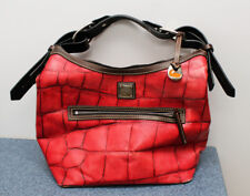Doonie and Bourke Authentic Red Alligator Leather Womens Handbag Purse - NICE