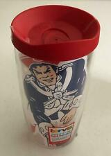 NEW 16 OZ Tervis New England Patriots Football Tumbler Red Lid FREE SHIPPING
