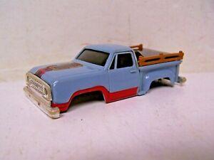 Schaper Stomper Dodge Power Wagon Body Only (Lt blue) 4x4 Vintage 1980s